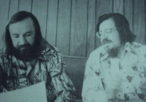 Jack and Joe (on the right) in 1975 at Florida State University.  We were known for our very smart attire!