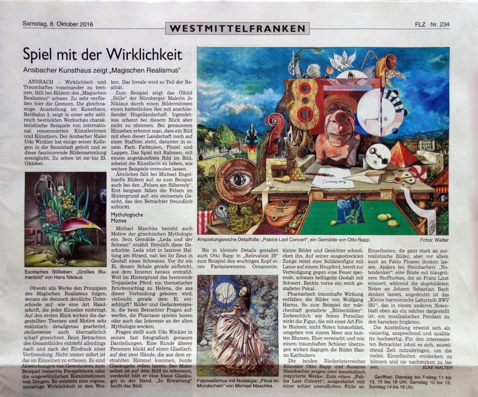 MAGISCHER REALISMUS Ansbach - Spiel mit der Wirklichkeit
