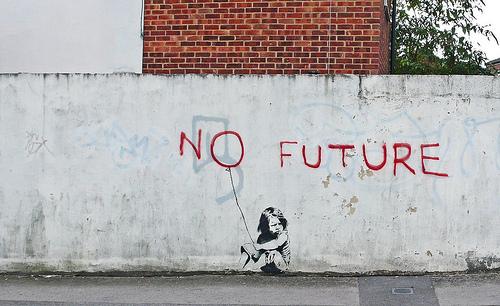 Banksy - No Future