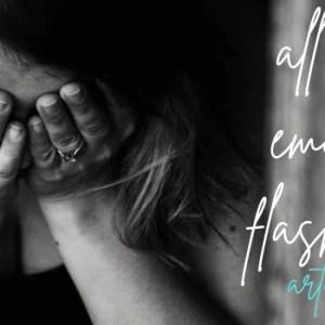 emotional flashbacks woman crying