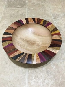 Gary Brown, woodturning artist.