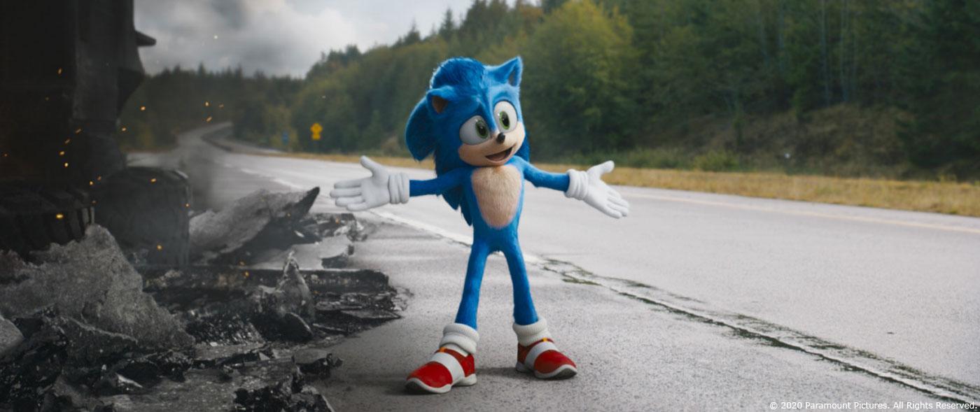 Sonic The Hedgehog Ged Wright Overall Vfx Supervisor Mpc The Art Of Vfxthe Art Of Vfx