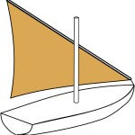Figure 50 Lateen Sail