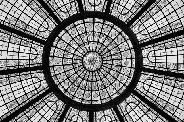 Inner Dome in the Tiffany Style