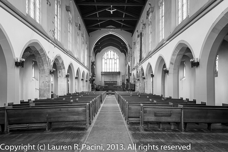 View from the Narthex to the Chancel
