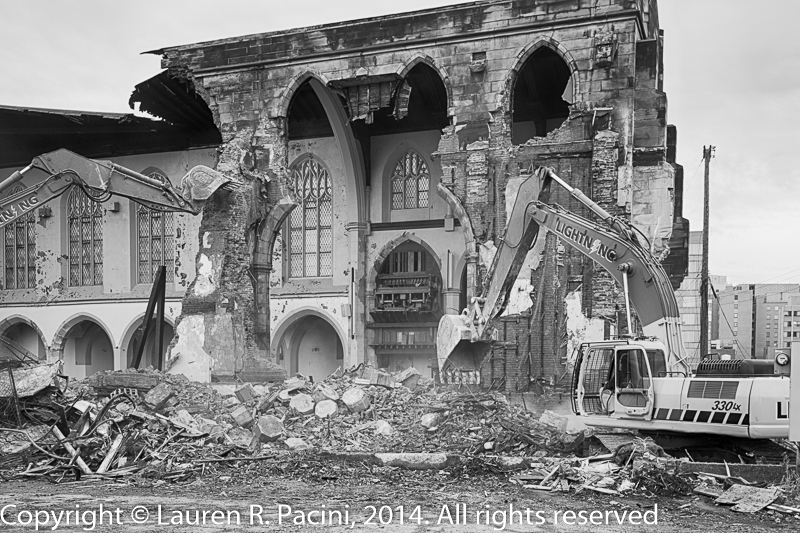 Demolition of the Church of the Transfiguration