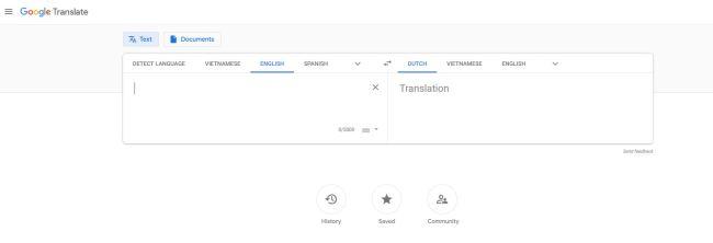 Google Translate - 4 beste gratis vertaaltools.