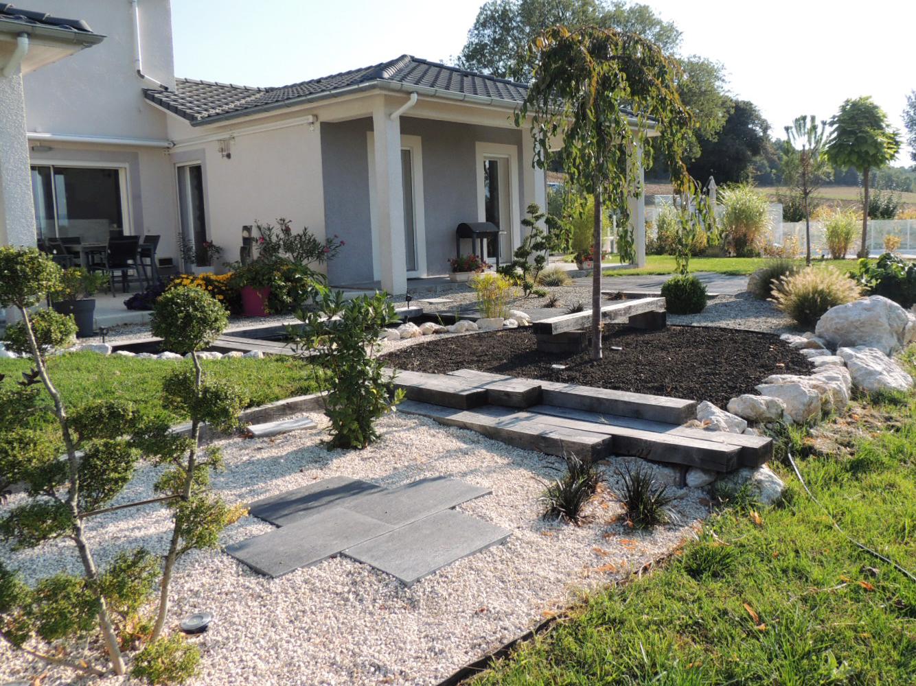 jardin zen et déco japonais