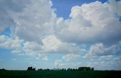 Dick Van Belle 68 Weiland En Wolken Schilderijen
