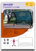 Cykelställ CYCLOBIK ARTOTEC lekskulpturer och park/urbana möbler med KONST & TEKNIK