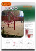 Roterande fåtölj ZICKI ARTOTEC lekskulpturer och park/urbana möbler med KONST & TEKNIK