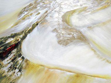 """[Clin d'art #177] """"Quoi de neuf?"""" «Perspectives». 2016. Eric de Belleval Acrylique sur toile. 122 x 92 cm 18 $ par mois pour un particulier (taxes incluses). © L'Artothèque. Tous droits réservés."""