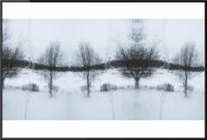 [Clin d'art #159] «MIROIR no 2, Fenêtre d'hiver à Saint-Armand». 2014. Francis Marin. Tirage chromogénique, impression en miroir. 61 x 92 cm. 15 $ par mois pour un particulier (taxes incluses). © L'Artothèque. Tous droits réservés.