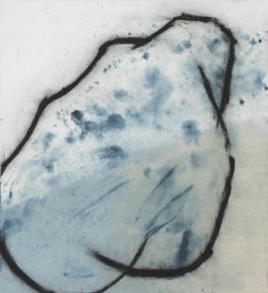 [Clin d'art #167] «Vénus bleue 2». 2015. France McNeil. Acrylique sur toile. 61 x 56 cm 12 $ par mois pour un particulier (taxes incluses). © L'Artothèque. Tous droits réservés.