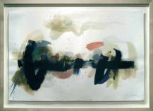 [Clin d'art #155] «Hestia 8». Lisa Tognon. Technique mixte sur fond gravé. 93 x 127 cm 34 $ par mois pour un particulier (taxes incluses). © L'Artothèque. Tous droits réservés.