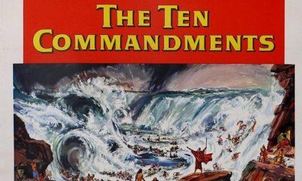Hollywood in due locandine: I Dieci Comandamenti