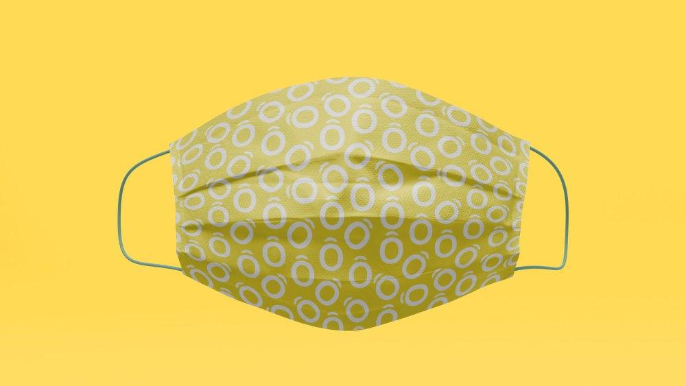 Artowls Logo Mask Mockup