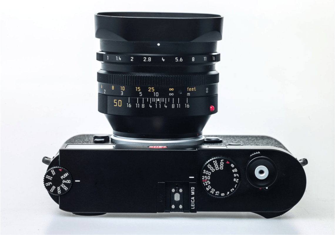 Leica M10 Top View