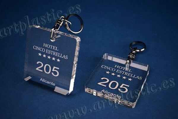 llaveros personalizados cuadrados 50x50 8mm