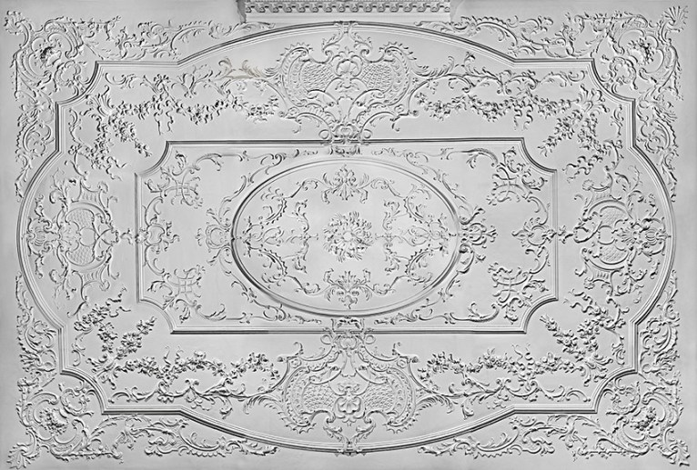 The Courtroom ceiling at the Foundling Museum
