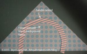 Nesting handle & background