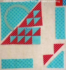 Sew last two segments