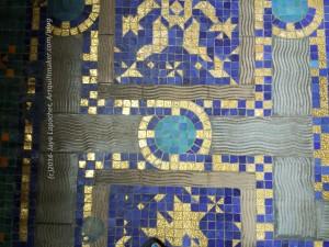 Floor tile designs - indoor pool