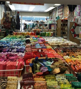 Quiltwork Patches back to front of store