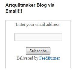 Feedburner Email option
