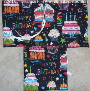 Happy Birthday gift bags