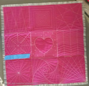 Mel Beach Machine Quilting Sampler