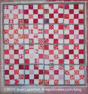 Red & White Donation Quilt