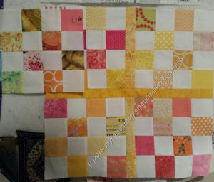 Yellow Donation quilt #2