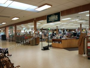 Yoder's Soft Goods Section
