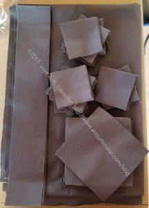 Triple Star background fabric