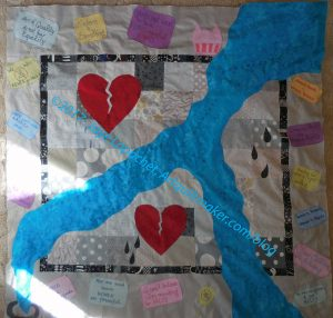 Art Quilt: Top finished
