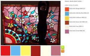 Leaded Glass palette n.1