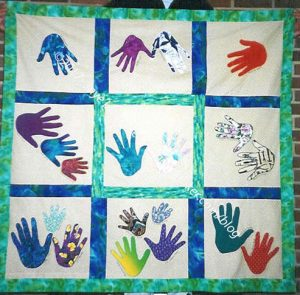 Ruth's Hand Quilt