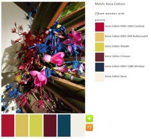 ColorPlay: DeYoung Flowers n.5