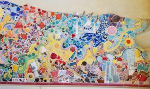 California Adventure Mosaic/Tile