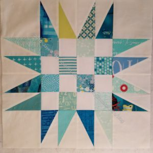 Spiky 16 Patch n.4 (quilt n.3)