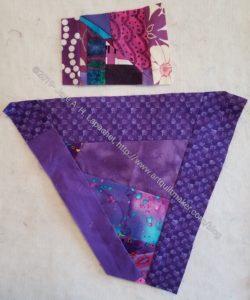 Purple improv shard n.2