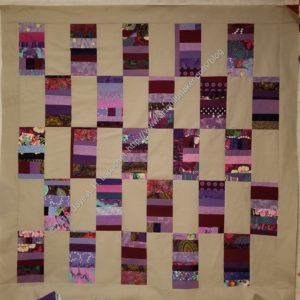 Purple Strips donation top
