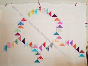 Flying Geese Exchange Quilt - starting design work