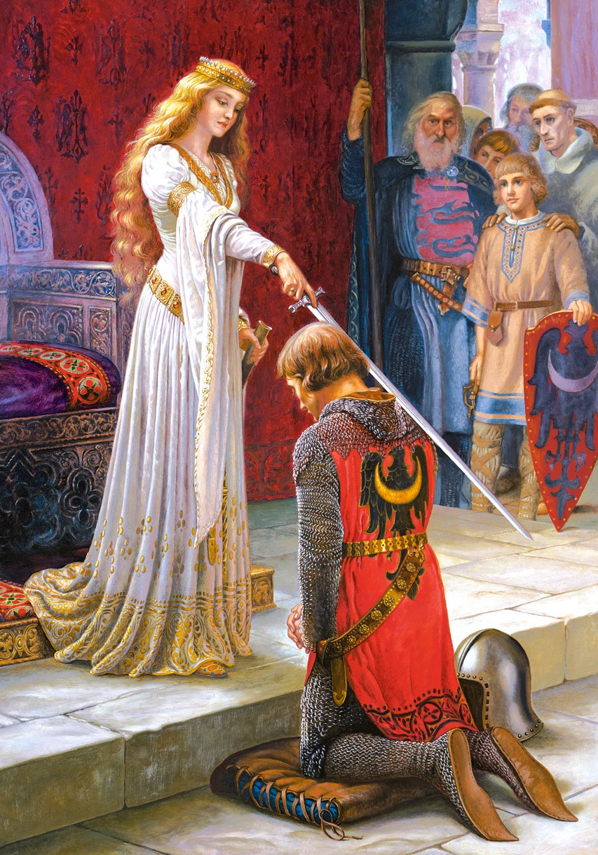 The Accolade paintings