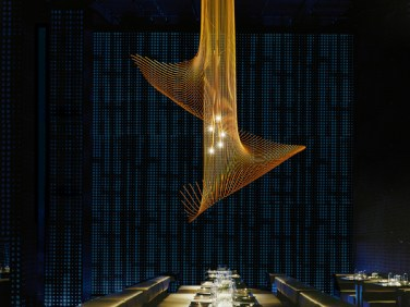 """FLICK A gradual descent from heaven to earth - A musical note in polished brass rod - A work of art - They all apply to this exquisite piece. Dimensions Ø800 x 1500 H 