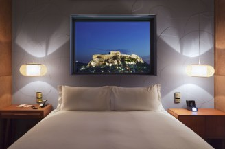 New-Hotel-Athens---Suite-Penthouse,-chambre-1
