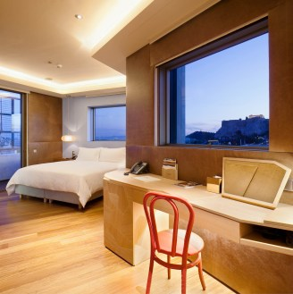 New-Hotel-Athens---Suite-Penthouse,-chambre-2