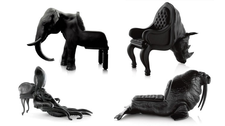 ANIMAL CHAIR COLLECTION BY MAXIMO RIERA | Artravel Magazine