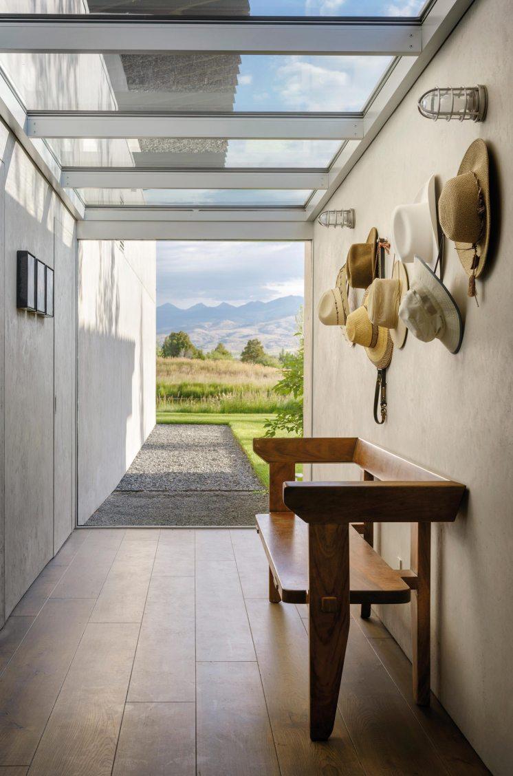 Residence Montana couloir